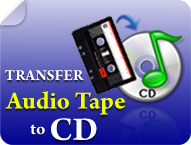 Transfer Audio Tape to CD.